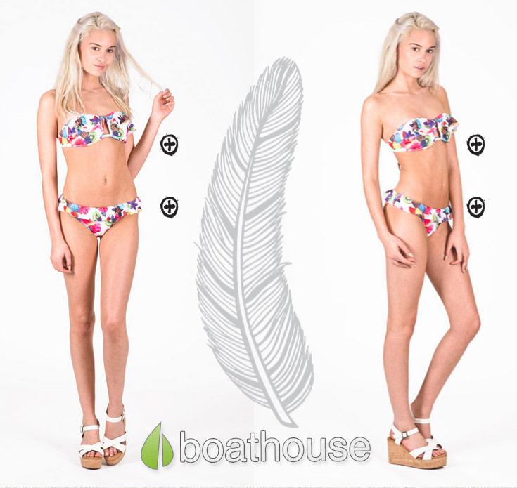 Lindsay Vrckovnik bikini modeling photo