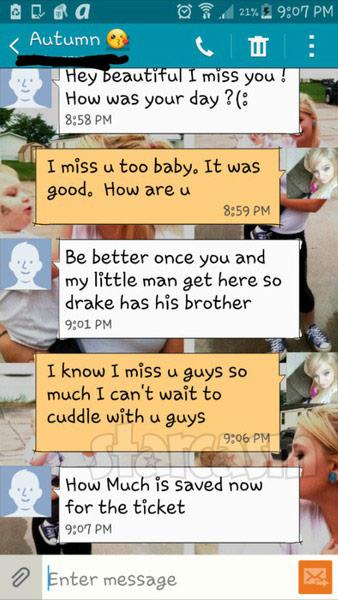 Millina Kacmar Autumn Crittendon dating texts