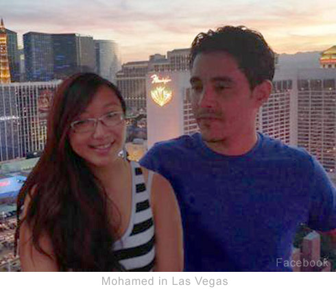 Mohamed Jbali in Las Vegas