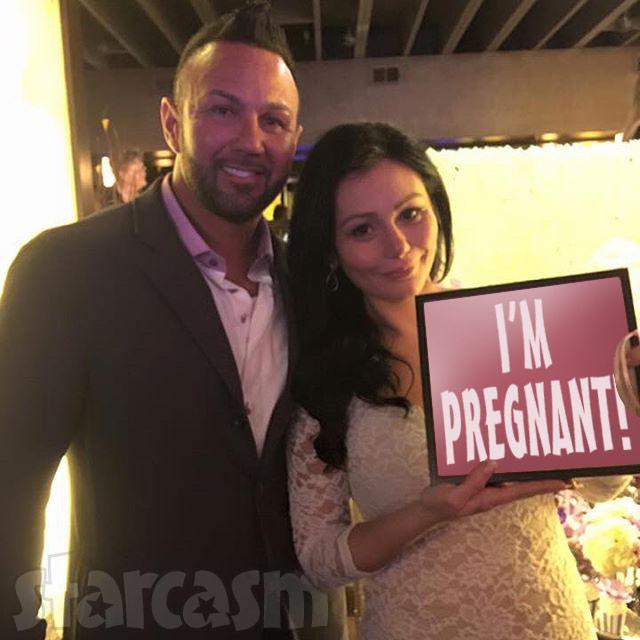 Roger JWoww wedding JWoww is pregnant again!