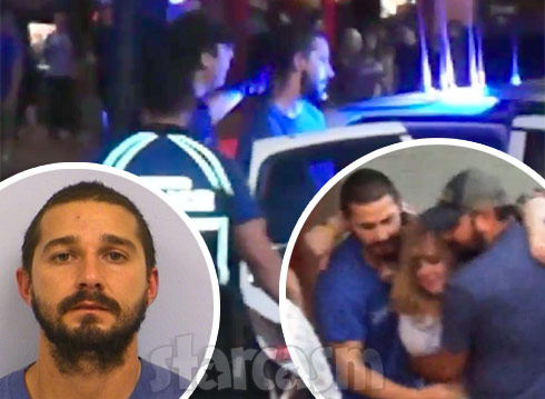 Shia LaBeouf arrested in Austin 2015