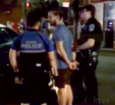 Shia LaBeouf arrested Austin