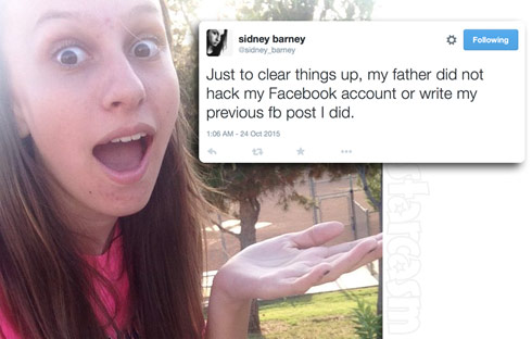 Tamra Judge's daughter Sidney Barney Twitter