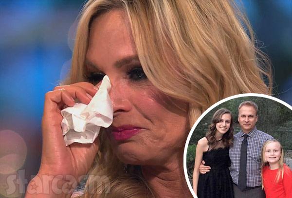 Tamra Judge crying Simon Barney daughters Sidney Sophia