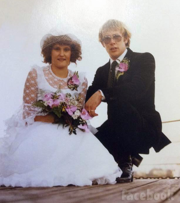 Gold rush Tony Beets wedding photo