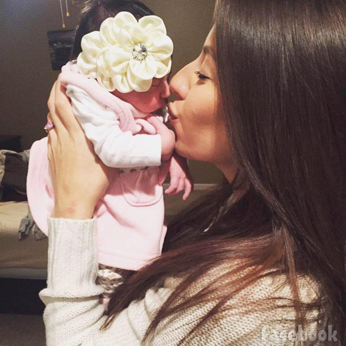 Teen Mom 2 Vetzabe Vee Torres baby daughter Velisse photo