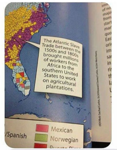 Company Apologizes for Texas Textbook Calling Slaves 'Workers': 'We Made a Mistake'