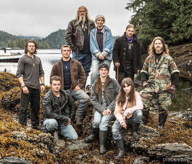 Alaskan Bush People cast Brown family photo