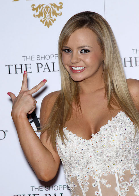 Bree Olson hosts AVN Friday at The Act Las Vegas inside The Shoppes at The Palazzo Featuring: Bree Olson Where: Las Vegas, Nevada, United States When: 18 Jan 2013 Credit: Judy Eddy/WENN.com
