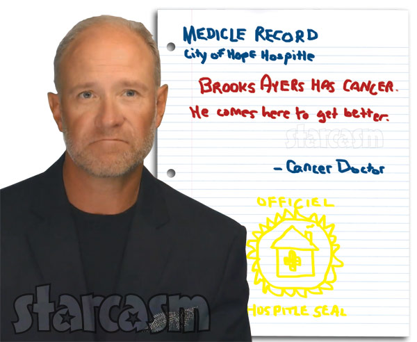Brooks Ayers fake medical records cancer