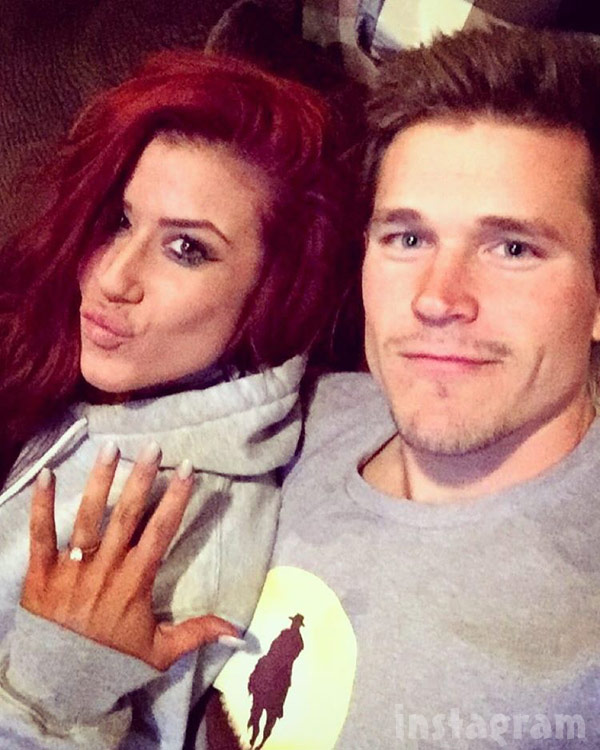 Chelsea Houska engagement ring
