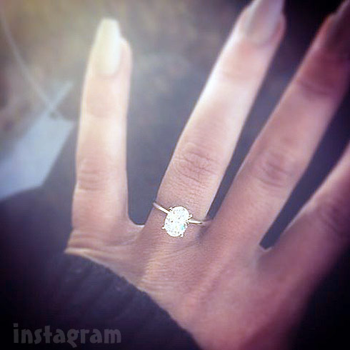 Teen Mom 2 Chelsea Houska's engagement ring photo