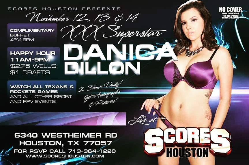 Danica Dillon stripper poster