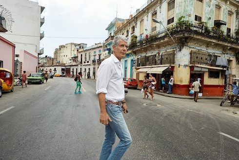 Donald Trump Anthony Bourdain 1