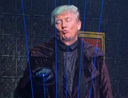 Donald Trump Laser