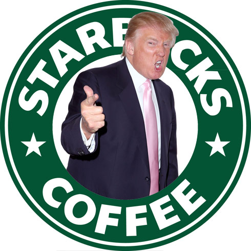 Donald Trump vs. Starbucks