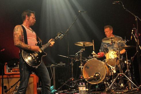 Eagles of Death Metal performs at Koko.London.England.17.06.2015 Featuring: Jesse Hughes, Josh Hommes Where: London, United Kingdom When: 17 Jun 2015 Credit: Brigitte Engl/WENN.com