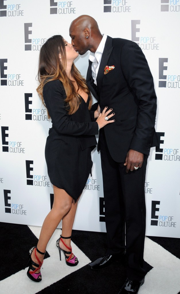 Khloe Kardashian and Lamar Odom 2012 'E' upfront presentation - Arrivals Featuring: Khloe Kardashian, Lamar Odom Where: New York City, United States When: 30 Apr 2012 Credit: WENN