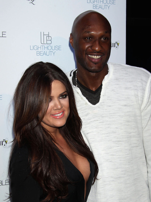 "Khloe Kardashian and Lamar Odom Launch their new fragrance ""Unbreakable"" at The Redbury Hotel Hollywood, California - 04.04.11 Featuring: Khloe Kardashian and Lamar Odom Where: California, United States When: 04 Apr 2011 Credit: WENN"