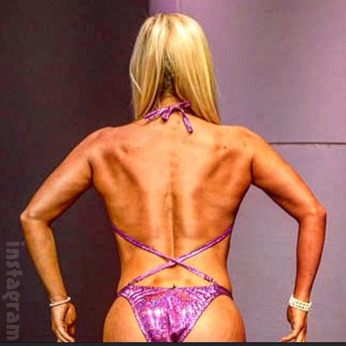 Mackenzie McKee NPC bikini back view