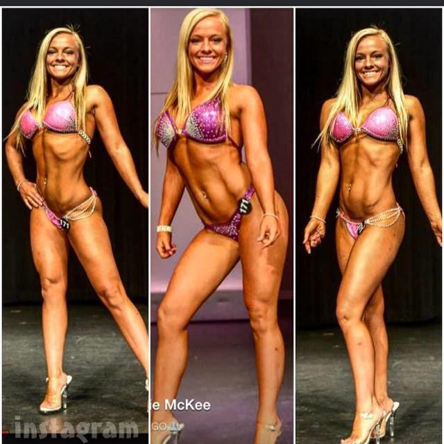 Mackenzie McKee fitness NPC bikin photos