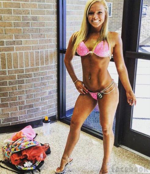 Mackenzie McKee fitness bikini photo Facebook