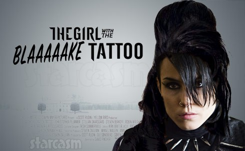 Noomi Rapace Amy Winehouse The Girl With the Blake Tattoo