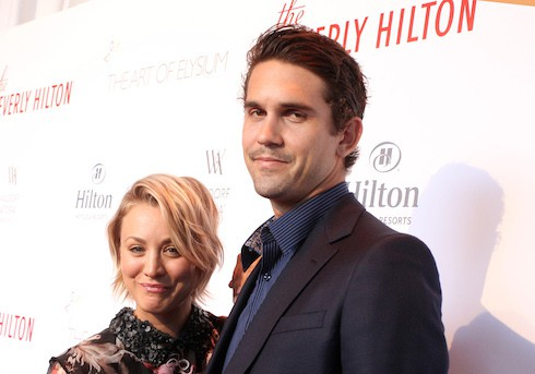 The Beverly Hilton Celebrates 60 Years With Diamond Anniversary Party Featuring: Kaley Cuoco, Ryan Sweeting Where: Beverly Hills, California, United States When: 21 Aug 2015 Credit: FayesVision/WENN.com