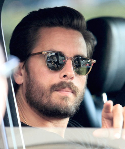 Reality star Scott Disick gets dropped off at 'Barney's NY' retail store by a friend to his new Mercedes. Pictured: Scott Disick Ref: SPL1172916 121115 Picture by: Bello / Splash News Splash News and Pictures Los Angeles: 310-821-2666 New York: 212-619-2666 London: 870-934-2666 photodesk@splashnews.com
