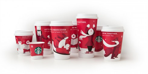 Starbucks Old Holiday Cups