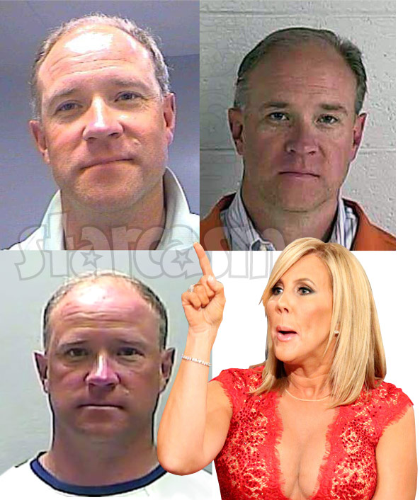 Vicki Gunvalson Brooks Ayers mug shot photos