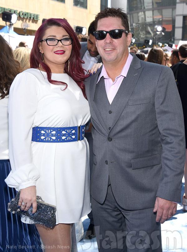 Amber Portwood and fiance Matt Baier