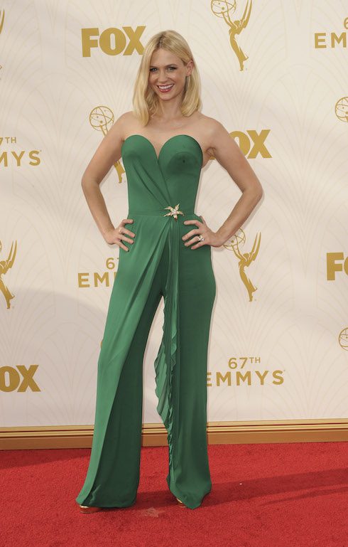The 67th Emmy Awards arrivals Featuring: January Jones Where: Los Angeles, California, United States When: 21 Sep 2015 Credit: Apega/WENN.com