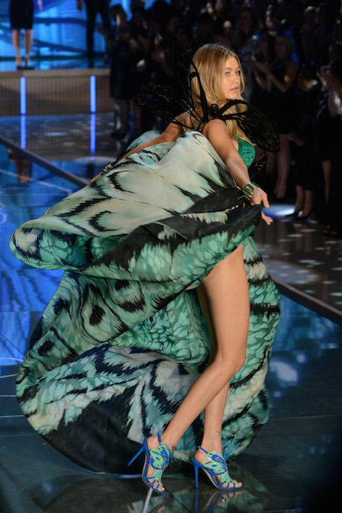 2015 Victoria's Secret Fashion Show - Runway Featuring: Gigi Hadid Where: New York City, New York, United States When: 10 Nov 2015 Credit: Ivan Nikolov/WENN.com