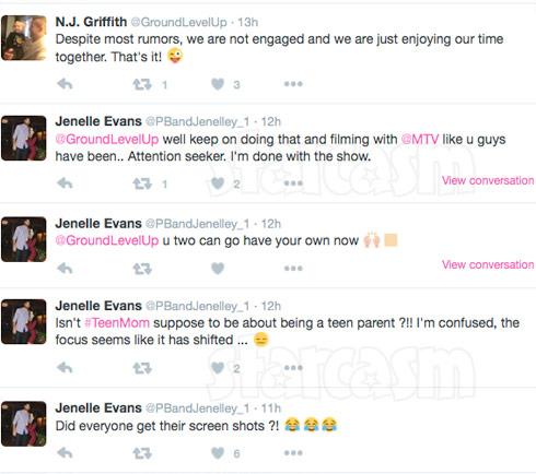Jenelle Evans quits Teen Mom 2 tweets