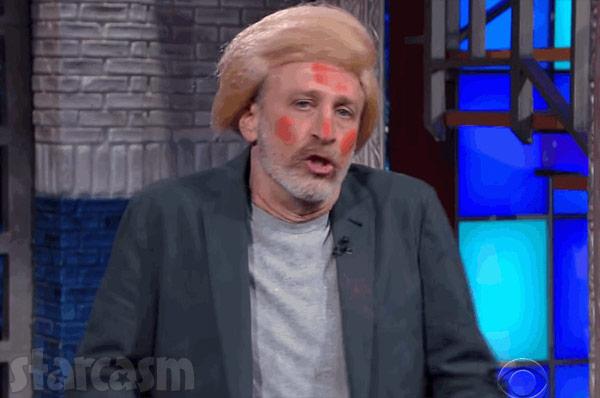 Jon Stewart as Donald Trump