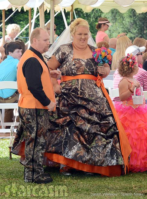Mama June Sugar Bear wedding photo