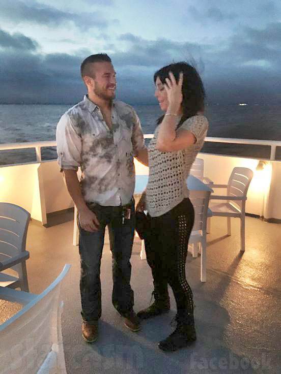 Nathan Griffith fiancee Jessica Henry proposal?