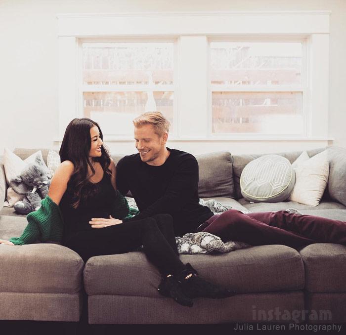 The Bachelor Sean Lowe Catherine Giudici pregnant