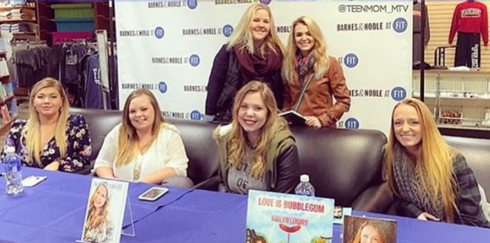 Teen Mom Book Signing