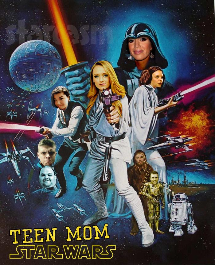 Teen Mom Star Wars