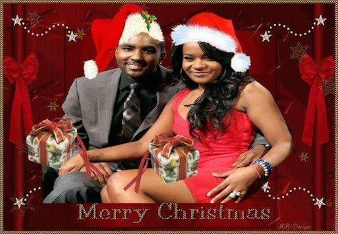 Bobbi Kristina Christmas card