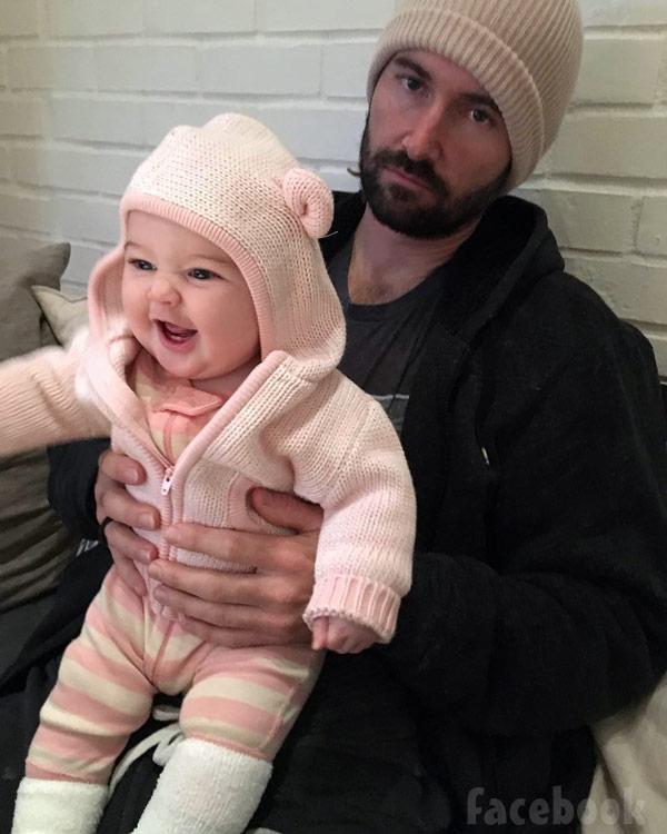 Brandon Jenner daughter Eva