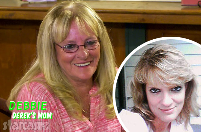 Derek Underwood's step-mom Debbie and real mom Stormie Clark