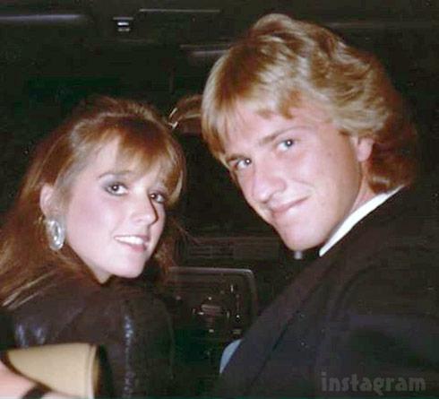Kim Richards and Monty Brinson throwback photo