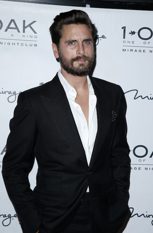 Scott Disick Hosts New Years Eve Soiree at 1 Oak Nightclub inside The Mirage Hotel and Casino Featuring: Scott Disick Where: Las Vegas, Nevada, United States When: 31 Dec 2015 Credit: Judy Eddy/WENN.com