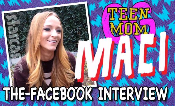 Maci Bookout interview Facebook fan Q&A