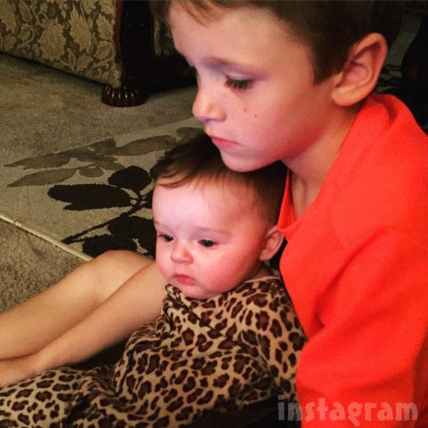 Maci Bookout's kids Bentley and Jayde