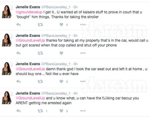 Nathan steals Jenelle's car tweets