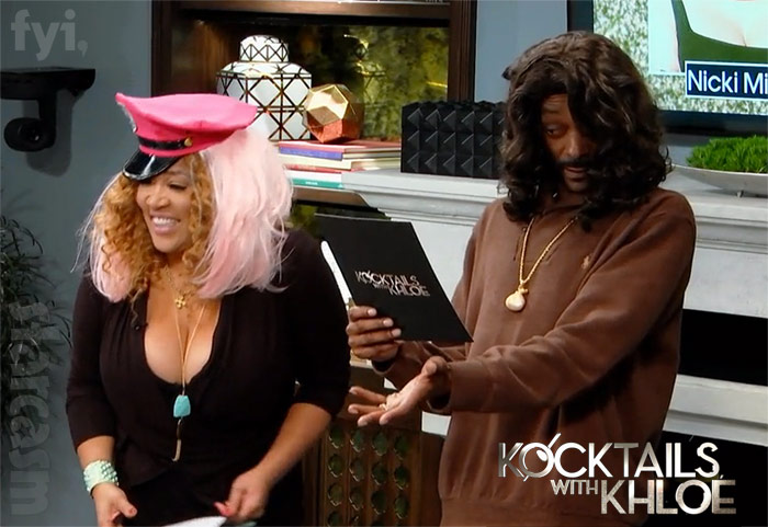 Snoop Dogg as Farrah Abraham on Kocktails with Khloe